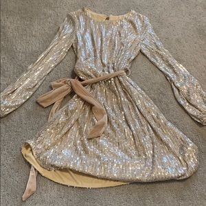 Sequin Nude Dress (Never Been Worn but W/O TAGS)